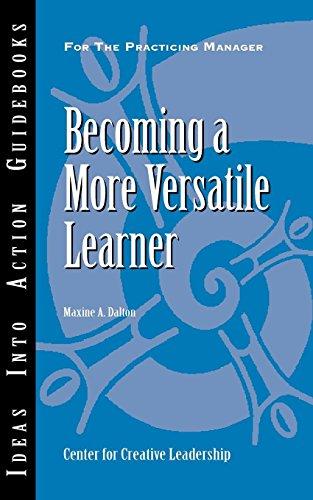 Becoming a More Versatile Learner: Maxine A. Dalton