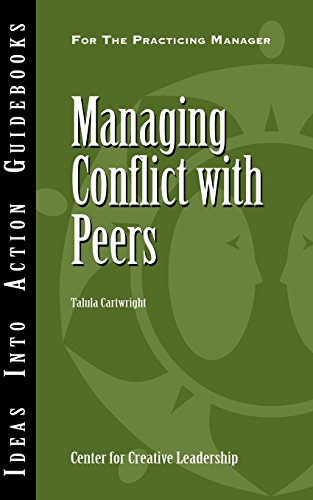 9781932973938: Managing Conflict with Peers (Ideas into Action Guidebook)