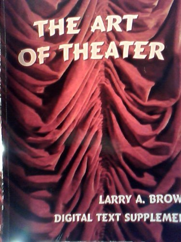 9781932981704: The Art of Theater:Digital Text Supplement