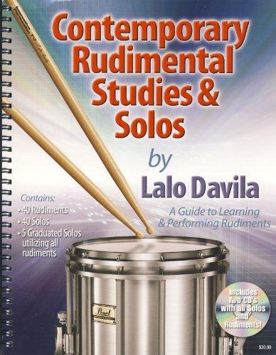 9781933001326: DAVILA L. - Contemporary Rudimental Studies & Solos (Inc.2 CD)