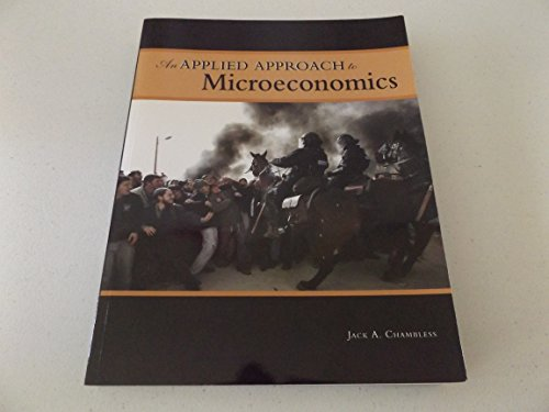 9781933005652: An Applied Approach to Microeconomics