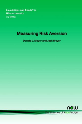 9781933019451: Measuring Risk Aversion (Foundations and Trends(r) in Microeconomics)