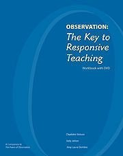 9781933021911: Observation: The Key to Responsive Teaching: Workbook with DVD