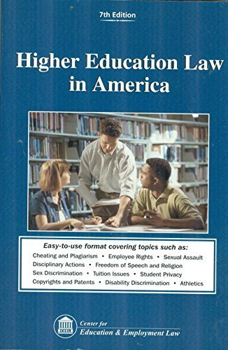 9781933043210: Higher Education Law in America