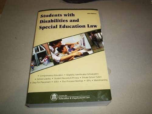 Students With Disabilities and Special Education Law: Center for Education