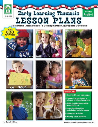 Early Learning Thematic Lesson Plans, Grades PK: Flora M.S., Sherrill