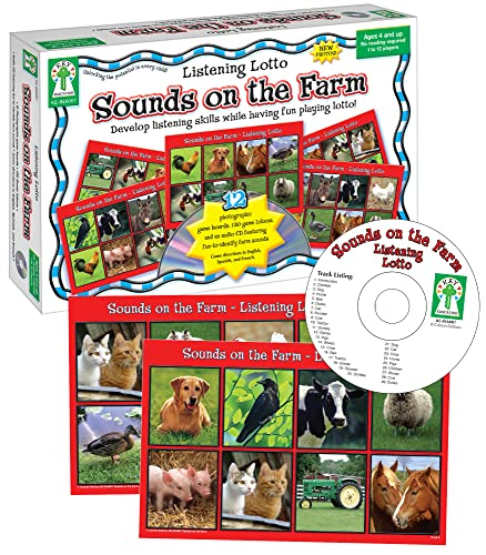 9781933052397: Listening Lotto: Sounds on the Farm