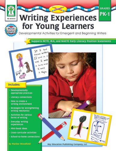 9781933052724: Writing Experiences for Young Learners, Grades PK - 1: Developmental Activities for Emergent and Beginning Writers
