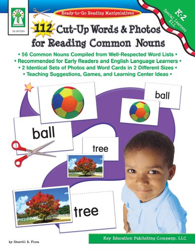 9781933052847: 112 Cut-Up Words and Photos for Reading Common Nouns, Grades K - 2