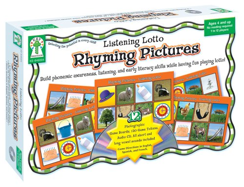 9781933052908: Listening Lotto: Rhyming Pictures