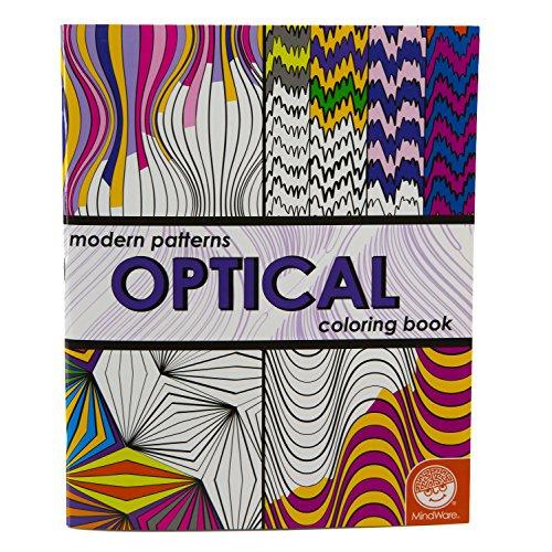 9781933054254: Modern Patterns Optical Coloring Book