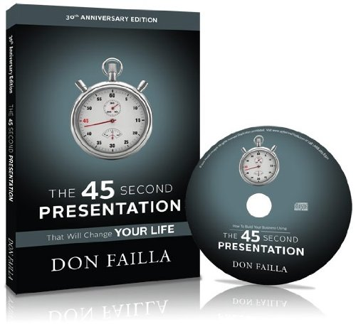 9781933057804: The 45 Second Presentation That Will Change Your Life (30th Anniversary Edition)