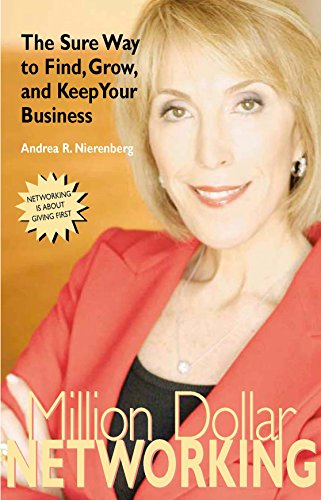 9781933102054: Million Dollar Networking: The Sure Way to Find, Grow, and Keep Your Business (Capital Business)