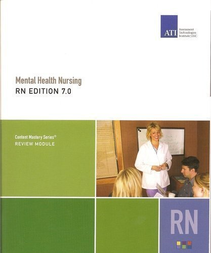 9781933107585: Mental Health Nursing RN EDITION 7.0 (Content Masery Series)