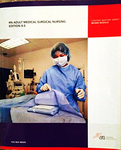 9781933107769: RN Adult Medical Surgical Nursing, Edition 8.0