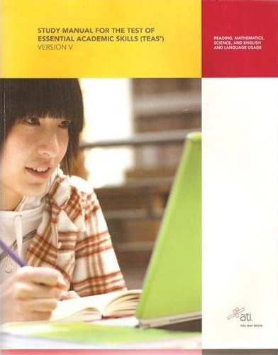 9781933107981: Study Manual for the Test of Essential Academic Skills, Version 5: Reading, Mathematics, Science, English and Language Usage