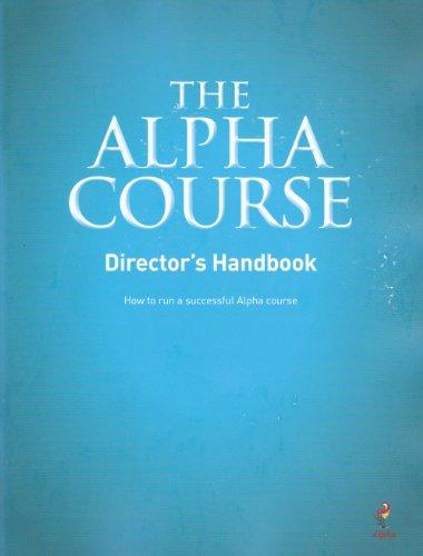 9781933114576: Alpha Course Director's Handbook