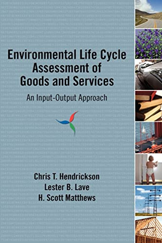 9781933115245: Environmental Life Cycle Assessment of Goods and Services: An Input-Output Approach