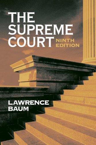 9781933116853: The Supreme Court, 9th Edition