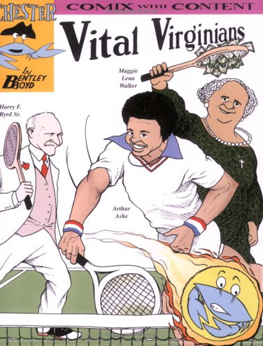 9781933122021: Vital Virginians (Chester the Crab) (Comix With Content)