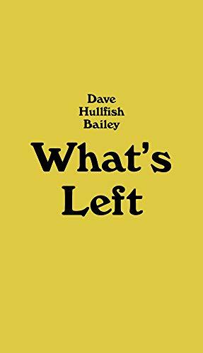 9781933128368: What's Left