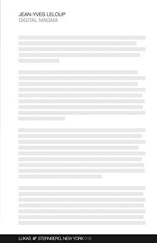Jean-Yves Leloup: Digital Magma (White Pocketbook Series 018): Jean-Yves Leloup