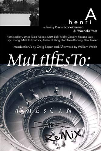 9781933132365: Multifesto: A Henri d'Mescan Reader (the Remix Edition)