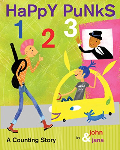 9781933149677: Happy Punks 1 2 3: A Counting Story
