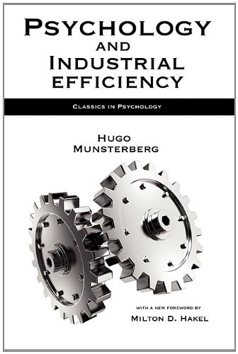 9781933167916: Psychology and Industrial Efficiency