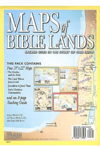 9781933178295: Maps of Bible Lands: Sacred Sites in the Story of Our Faith [With Teaching Guide]