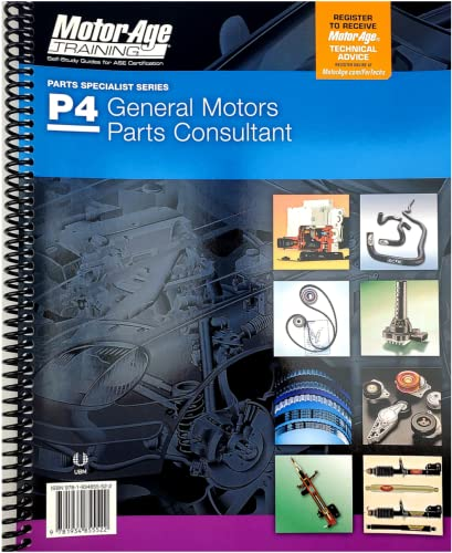 9781933180236: P4 General Motors Parts Consultant: The Motor Age Training Self-Study Guide for ASE Certification