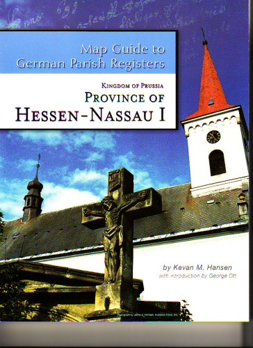 9781933194066: Kingdom of Prussia - Province of Hessen-Nassau I - Regierungsbezirk Wiesbaden (Map Guide to German P
