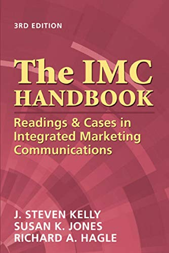 9781933199061: The IMC Handbook: Readings & Cases in Integrated Marketing Communications