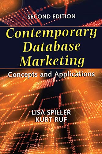9781933199443: Contemporary Database Marketing:Concepts and Applications