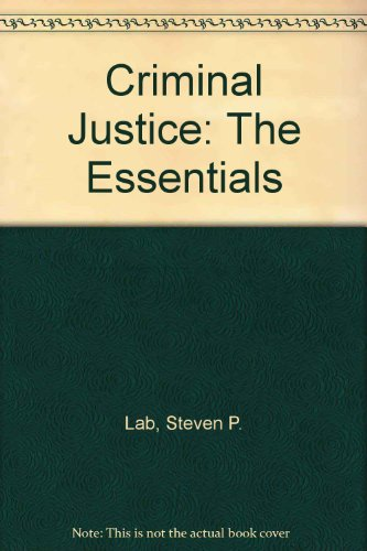 9781933220154: Criminal Justice: The Essentials