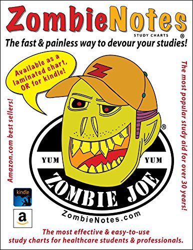9781933230450: Zombie Notes Shock and Stages of Shock (laminated card)
