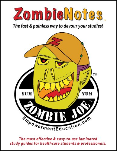 9781933230481: Zombie Notes BCLS Certification Exam Preparation (laminated card)