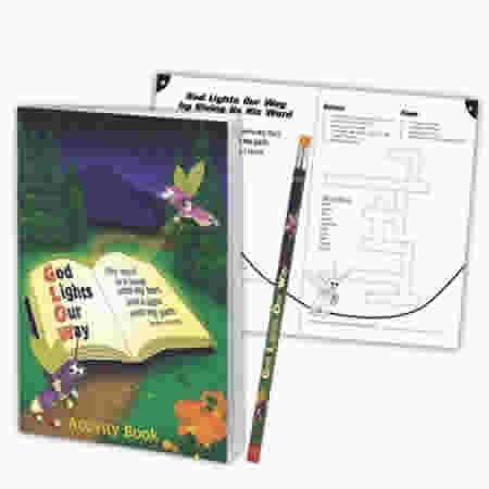 God Lights Our Way Activity Book with FREE Pencil: CTA, Inc.