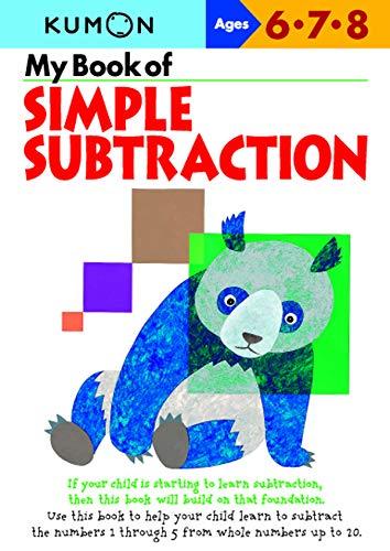 9781933241067: My Book Of Simple Subtraction (Kumon Workbooks)
