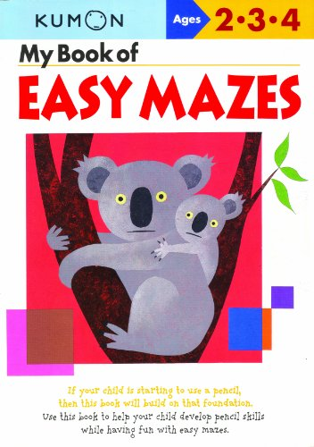 9781933241241: My Book Of Easy Mazes (Kumon Workbooks)