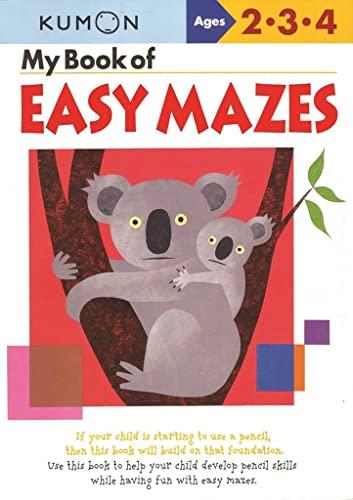 9781933241241: My Book of Easy Mazes (Kumon Workbooks)