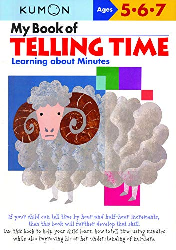 9781933241272: My Book of Telling Time: Learning about Minutes (Kumon Workbooks)