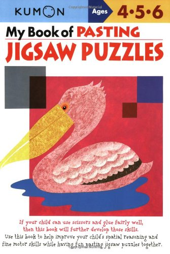 9781933241296: My Book of Pasting: Jigsaw Puzzles (Kumon Workbooks)