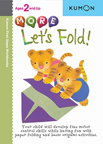 9781933241357: More Let's Fold! (Kumon First Steps Workbooks)