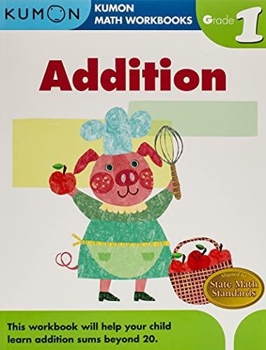 9781933241494: Grade 1 Addition (Kumon Math Workbooks)