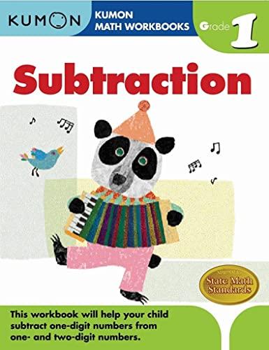 9781933241500: Grade 1 Subtraction (Kumon Math Workbooks)