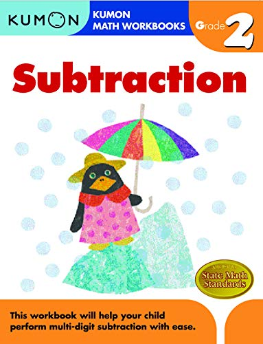 Subtraction, Grade 2 (Kumon Math Workbooks): Tachimoto, Michiko