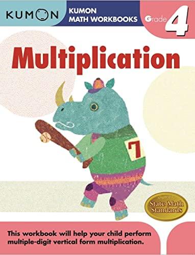 9781933241562: Grade 4 Multiplication (Kumon Math Workbooks)