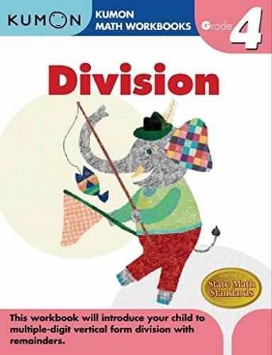Grade 4 Division (Kumon Math Workbooks) (Kumon Math Workbooks): Not Available (Not Available)