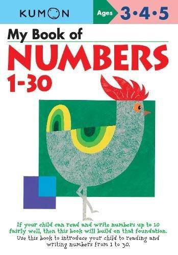 9781933241807: My First Numbers 1-30 (Kumon Workbooks)